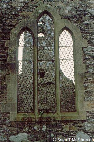 Window of Magherally Old Church