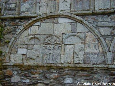 Carvings from Ardmore church