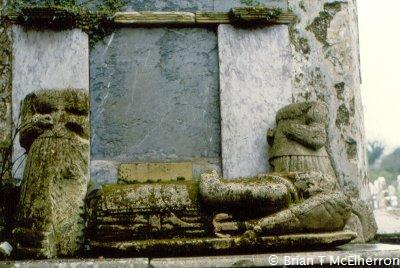Effigy tomb at Kilcredan