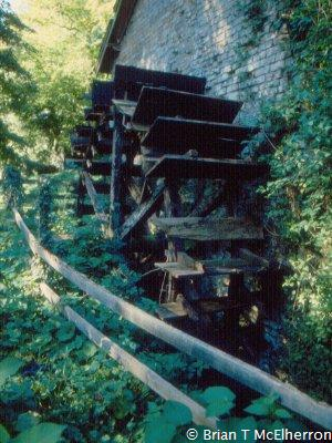 Castlebellingham Mill Wheel